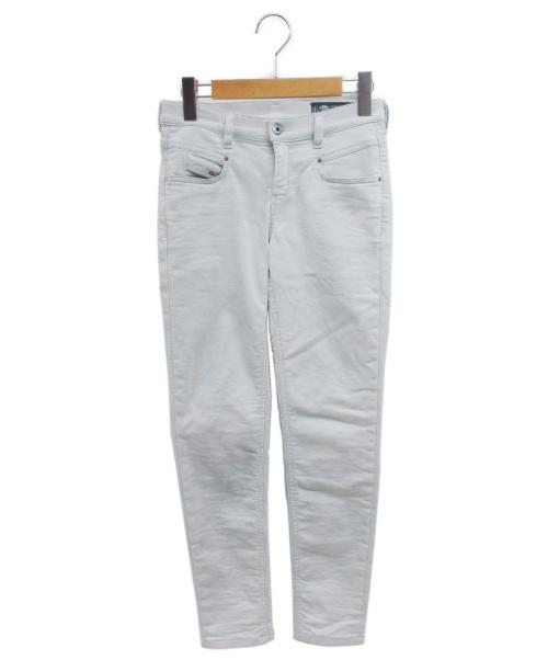 DIESEL(ディーゼル)DIESEL (ディーゼル) ジョグジーンズ ホワイト サイズ:23の古着・服飾アイテム