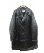 Martin Margiela 10(マルタンマルジェラ10)の古着「Black Down Glossy Jacket」|ブラック