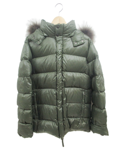 DUVETICA(デュベティカ)DUVETICA (デュベティカ) ダウンジャケット グリーン サイズ:48の古着・服飾アイテム