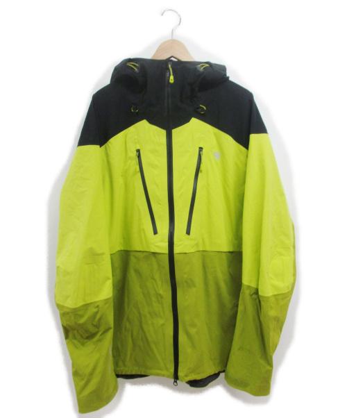 MOUNTAIN HARD WEAR(マウンテンハードウェア)MOUNTAIN HARD WEAR (マウンテンハードウェア) サイクロンジャケット イエロー サイズ:Lの古着・服飾アイテム