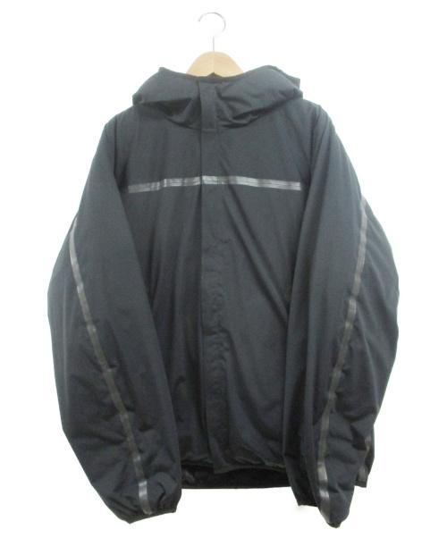 MOUNTAIN HARD WEAR(マウンテンハードウェア)MOUNTAIN HARD WEAR (マウンテンハードウェア) シティードウェラーズ3Lインシュレーテッドジャケット ブラック サイズ:Lの古着・服飾アイテム