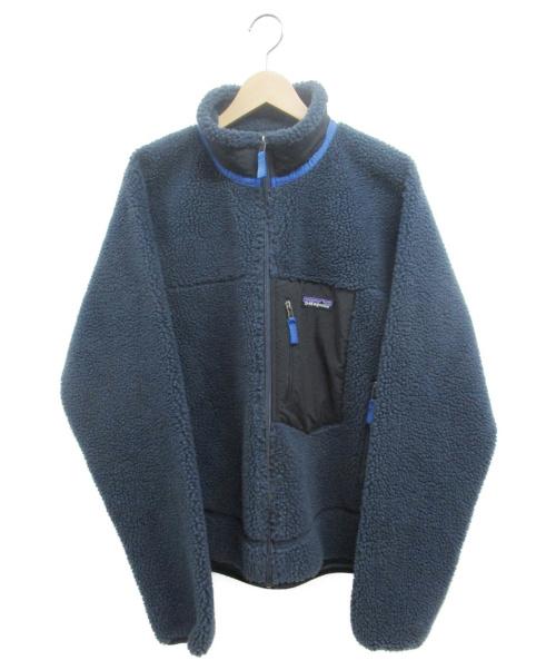 Patagonia(パタゴニア)Patagonia (パタゴニア) Classic Retro-X Jacket ネイビー サイズ:Mの古着・服飾アイテム