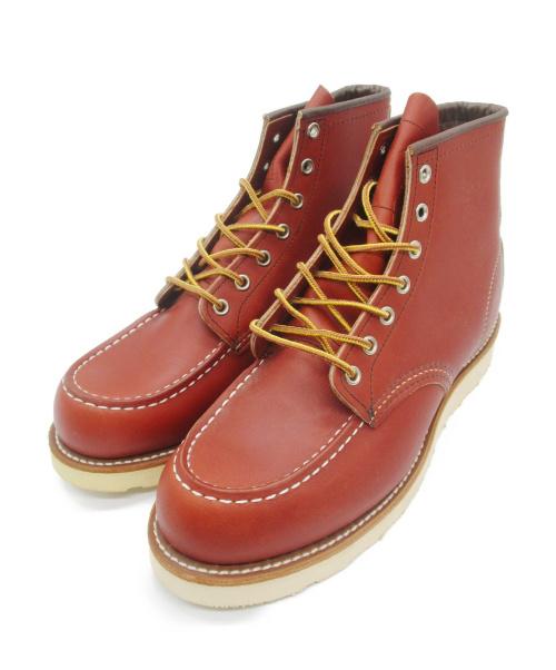 RED WING(レッドウィング)RED WING (レッドウィング) Irish Setter   6 Moc-toe ブラウン サイズ:26.5cmの古着・服飾アイテム