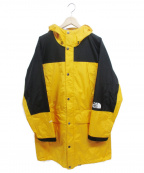 THE NORTH FACE()の古着「Mountain Raintex Coat」|イエロー