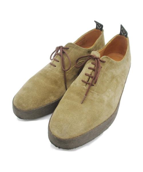 SANDERS(サンダース)SANDERS (サンダース) スエードオックスフォードシューズ ブラウン サイズ:9の古着・服飾アイテム