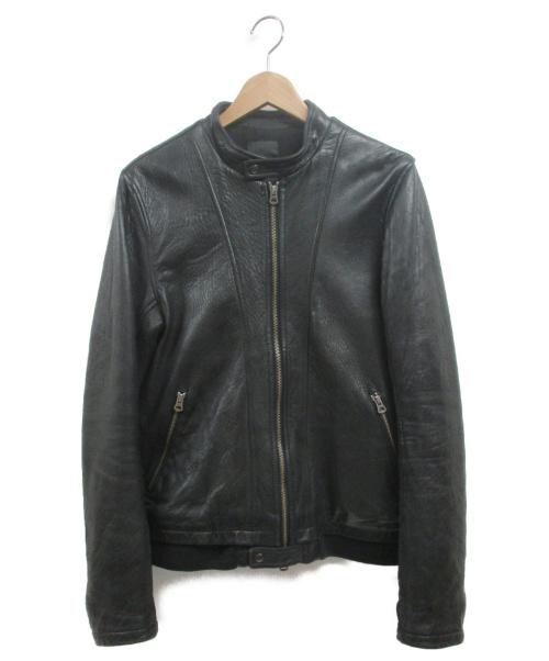 Shama(シャマ)Shama (シャマ) レザージャケット ブラック サイズ:38の古着・服飾アイテム