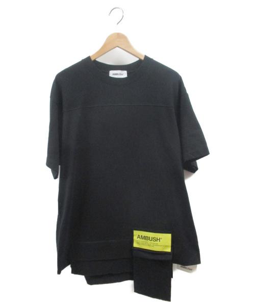 AMBUSH(アンブッシュ)AMBUSH (アンブッシュ) NEW WAIST POCKET T-SHIRT ブラック サイズ:L 未使用品の古着・服飾アイテム