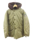 PHERROWS(フェローズ)の古着「B-9フライトジャケット」|ブラウン