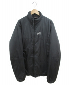 MILLET(ミレー)の古着「中綿ジャケット」|ブラック