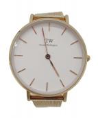 Daniel Wellington(ダニエルウェリントン)の古着「腕時計」|ピンクゴールドカラー
