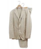 BOGLIOLI(ボリオリ)の古着「セットアップスーツ」|ベージュ