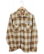 TENDERLOIN(テンダーロイン)の古着「バッファロージャケット」|ブラウン