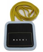 MARNI(マルニ)の古着「カードケース」|ブラック