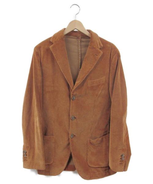 Santaniello(サンタニエッロ)Santaniello (サンタニエッロ) 3Bコーデュロイジャケット ベージュ サイズ:48の古着・服飾アイテム