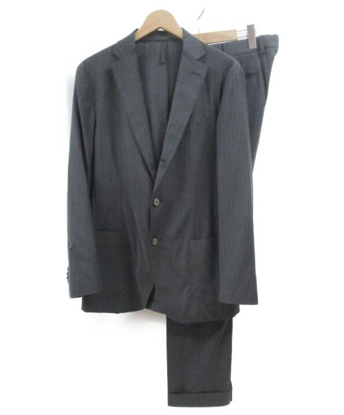 Santaniello(サンタニエッロ)Santaniello (サンタニエッロ) セットアップスーツ グレー サイズ:48の古着・服飾アイテム