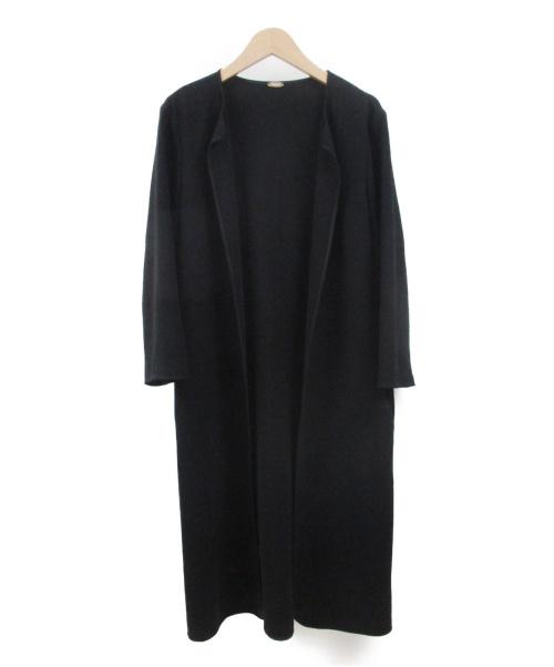 MUSE de Deuxieme Classe(ミューズドゥドゥーズィエム クラス)MUSE de Deuxieme Classe (ミューズドゥドゥーズィエム クラス) トリアセジョーゼットコート ブラック サイズ:FREEの古着・服飾アイテム