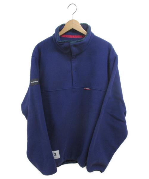 DESCENDANT(ディセンダント)DESCENDANT (ディセンダント) HUMMING FLEECE PULL OVER ネイビー サイズ:2の古着・服飾アイテム