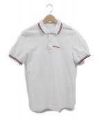 PRADA(プラダ)の古着「ポロシャツ」|ホワイト