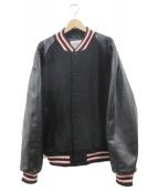 GB SPORT(ゴールデンベアスポーツ)の古着「スタジャン」|ブラック