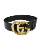 GUCCI(グッチ)の古着「GGマーモントベルト」|ブラック
