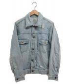 RHC Ron Herman(アールエイチシー ロンハーマン)の古着「ダメージデニムジャケット」|スカイブルー