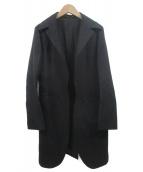 Ys(ワイズ)の古着「ウールギャバコート」 ブラック