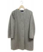 S Max Mara(エス マックスマーラ)の古着「アルパカ・モヘア混コート」|グレー