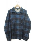 TENDERLOIN(テンダーロイン)の古着「チェックシャツ」|ブルー