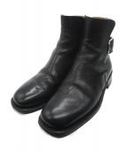 HERMES(エルメス)の古着「サイドベルトブーツ」|ブラック
