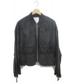 UN3D.(アンスリード)の古着「ナイロンブルゾン」|ブラック