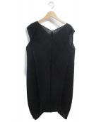 PLEATS PLEASE(プリーツプリーズ)の古着「プリーツワンピース」|ブラック