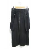 LIMI feu(リミフゥ)の古着「ジャンパースカート」|ネイビー