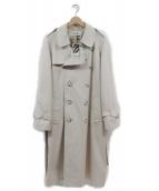 MISBHV(ミスビヘイブ)の古着「FANTASY TRENCH COAT」|アイボリー