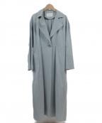 EMMEL REFINES(エメル リファインズ)の古着「トレンチコート」|サックスブルー