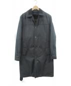 LOUIS VUITTON(ルイヴィトン)の古着「ライナー付コート」|ブラック