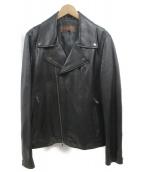 BALMAIN(バルマン)の古着「ラムレザージャケット」|ブラック