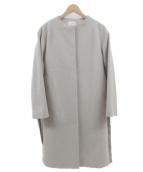 UNITED TOKYO(ユナイテッドトウキョウ)の古着「ノーカラーコート」|ベージュ