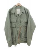 DENIM & SUPPLY RALPH LAUREN(デニムアンドサプライ ラルフローレン)の古着「ミリタリージャケット」|カーキ