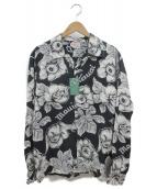 Sun Surf(サンサーフ)の古着「アロハシャツ」|ブラック