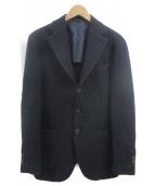 DOPPIAA(ドッピア)の古着「3Bジャケット」 ネイビー