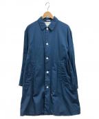 LIVING CONCEPT(リビングコンセプト)の古着「ステンカラーコート」|ブルー