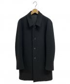 KURO(クロ)の古着「ステンカラーコート」|ブラック