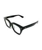 金子眼鏡(カネコメガネ)の古着「伊達眼鏡」|ブラック