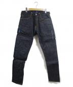 DENIM BY VANQUISH&FRAGMENT(デニムバイヴァンキッシュ&フラグメント)の古着「rigid tapered denim pants」|インディゴ