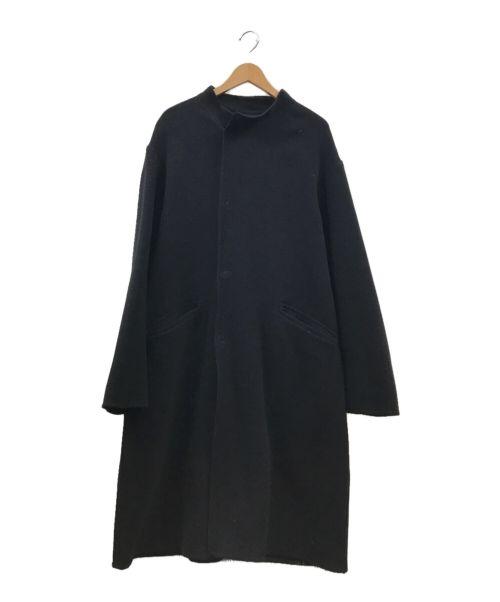 BEAUTY&YOUTH(ビューティアンドユース)BEAUTY&YOUTH (ビューティアンドユース) ラップスタンドカラーコート ブラック サイズ:XLの古着・服飾アイテム