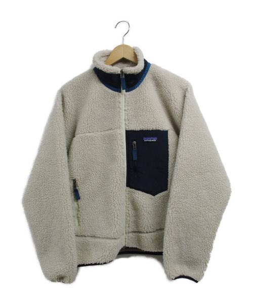 Patagonia(パタゴニア)Patagonia (パタゴニア) クラシックレトロXジャケット アイボリー サイズ:XSの古着・服飾アイテム