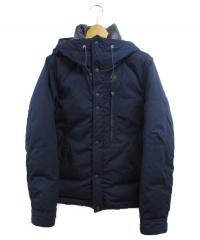 THE NORTHFACE PURPLELABEL(ザノースフェイスパープルレーベル)の古着「Bayhead Cloth Down Jacket」|ネイビー