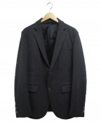 EPOCA UOMO(エポカウォモ)の古着「2WAYストレッチシャークスキンジャケット」|グレー