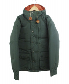 Mt. Rainier Design(マウントレーニアデザイン)の古着「ダウンジャケット」|グリーン