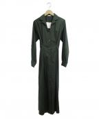 THE IRON(アイロン)の古着「シャツワンピース」 グリーン
